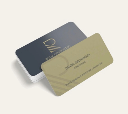 Visiting Card Rounded Corner