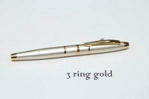 Pen (3 Ring Gold)