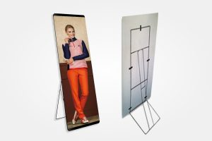 MDF Board (3mm) Standee Size 2.5 X 6 Feet with Back Stand