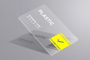 Visiting Card PVC Transparent