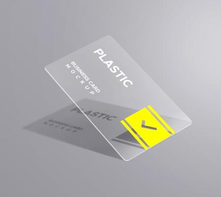 Visiting Card PVC Transparent